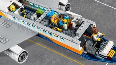 Lego Vliegtuig - interieur